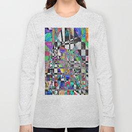 Mosaic Mountain Long Sleeve T-shirt