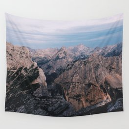 Just mountains Wall Tapestry