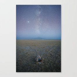 Galactic Savannah Canvas Print