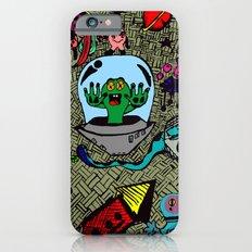 Aliens in Space Slim Case iPhone 6s