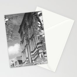 narcissistic duomo black and white Stationery Cards