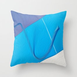 the new shape Throw Pillow
