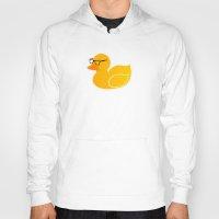 duck Hoodies featuring Duck by Studio14