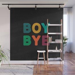 Boy Bye Wall Mural