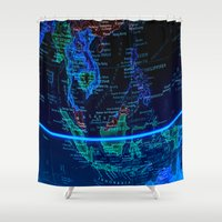 asia Shower Curtains featuring Southeast Asia by Jeffrey J. Irwin