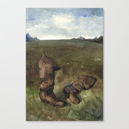 The Battlefield Guide Canvas Print