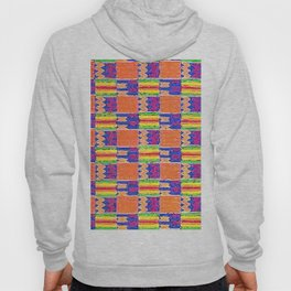 African Influence Textile Hoody