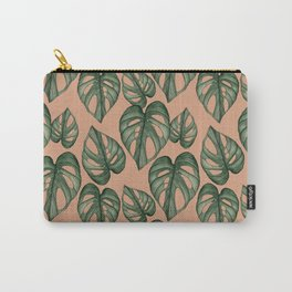 Monstera Adansonii Watercolour Carry-All Pouch
