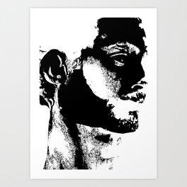 Rorschach test Art Print