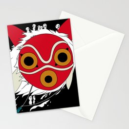 The Mask of Mononoke Hime Anime Stationery Cards