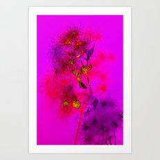 Florales · plant (colorful) end 10 Art Print