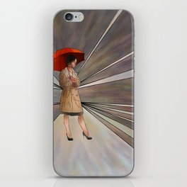 Limessia - beauty with umbrella iPhone Skin