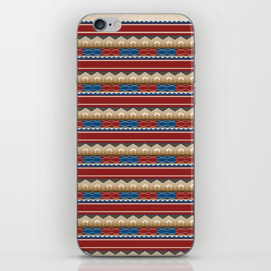 Navajo Pattern 2 iPhone & iPod Skin