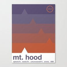 mount hood single hop Canvas Print