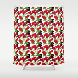 Juicy Fruit Shower Curtain
