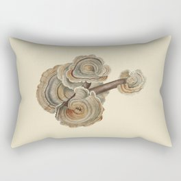 Polyporus versicolor Rectangular Pillow