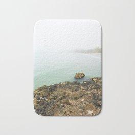 Bay of Pigs Playa Larga Cuba Caribbean Sea Ocean Beach Geology Limestone Tropical Island Fog Mist Ne Bath Mat