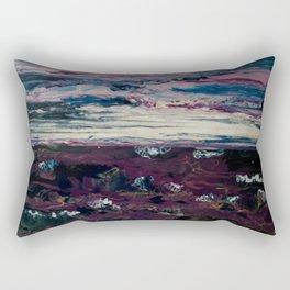 Dusk at sea Rectangular Pillow