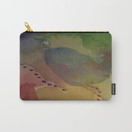 Watercolor Abstract Mini Series #2 Carry-All Pouch