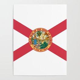 Florida State Flag Poster