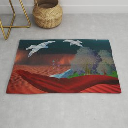 AN OASIS OF PEACE Rug