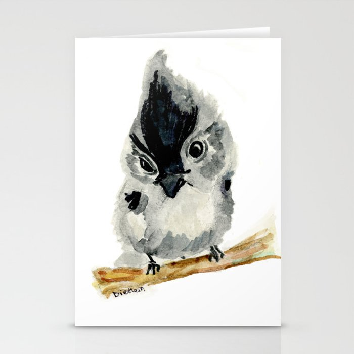 Judgy Little Bird Stationery Cards