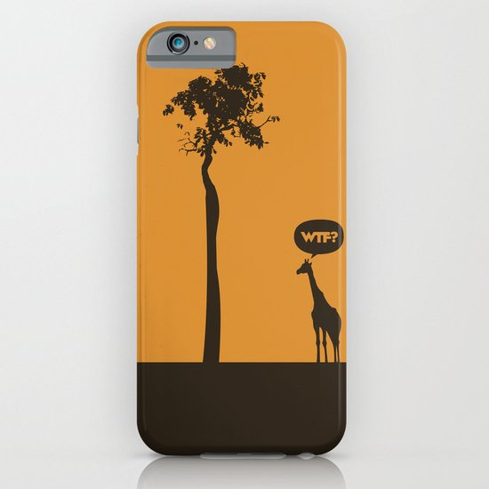 WTF? Jirafa! iPhone & iPod Case