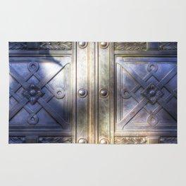 Crypt Door Highgate Cemetery Rug