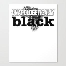 Unapologetically Black Africa Canvas Print
