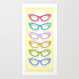 Make A Spectacle Of Yourself Art Print