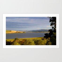 Bull Iland Tamar River Northern Tasmania*Australia* Art Print