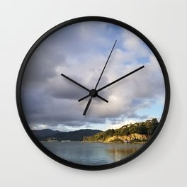 The Mouth of Andersons Bay Wall Clock