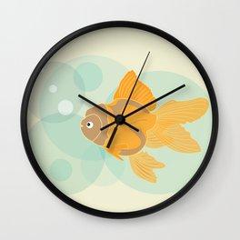 Golden Fish - 2016 Wall Clock