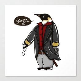Captain Penguin Canvas Print