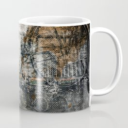 City-Art AMSTERDAM Bicycles Coffee Mug