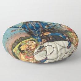 Hindu Destruction Goddess Kali 24 Floor Pillow