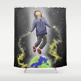 Below My Feet Shower Curtain