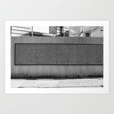 Trusty Brooklyn Art Print