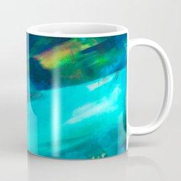 winter scenery abstract digital painting Coffee Mug