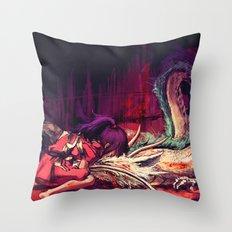 Bleed Throw Pillow