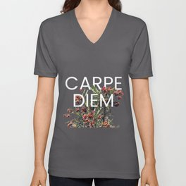 Carpe Diem Unisex V-Neck