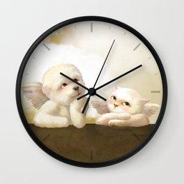 Cherubs Wall Clock