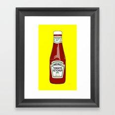 1 of 57 flavours Framed Art Print