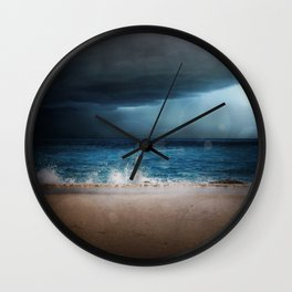 Dark Waters Wall Clock