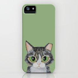 Jingle Bob Cat iPhone Case