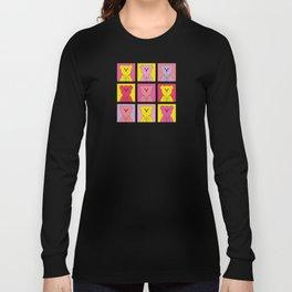 Grumpy Teds Bright Block Long Sleeve T-shirt