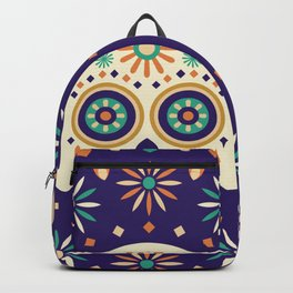 Mexican Celebration Vibrant Latin Dias De Los Muertos Skull Backpack