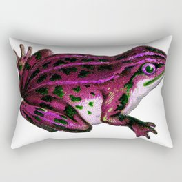 Pinky the Frog Rectangular Pillow