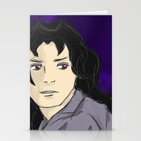 inuyasha Stationery Cards featuring Naraku by Danyphestation