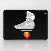 mcfly iPad Cases featuring pixel McFly by Sneaker Pie